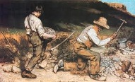 'The Stone-Breakers' by Gustave Courbet (1819-77), 1849