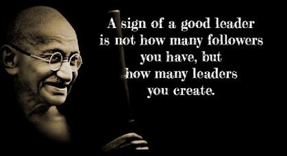 Gandhi's Good Leaders