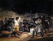 'The Third of May 1808' by Francisco de Goya (1746-1818), 1814