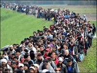 Great Muslim Immigration to Europe, 2015-