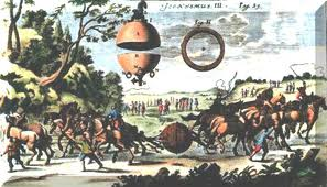 Guericke's 1654 Magdeburg Spheres Demonstration