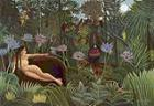 'The Dream' by Henri Rousseau (1844-1910)