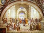'The School of Athens' by Raphael Sanzio (1483-1520), 1510-1