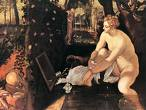 'Susanna Bathing' by Tintoretto (1518-94)