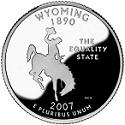 Wyoming Quarter, 2007